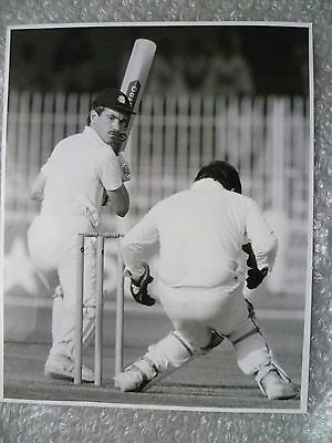 Org Press Photo- Cricketer BRUCE FRENCH Pakistan v England 1st Test Match 1987