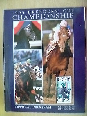 1995 Breeder's Cup CHAMPIONSHIP Official Programme