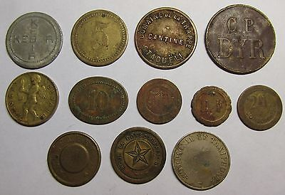 Great lot of old tokens