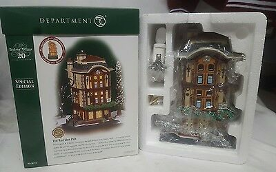 Dept 56 - THE RED LION PUB - Special Edition - Dickens Village