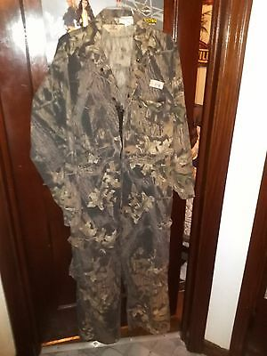 Mens vintage Red Head camo camoflouge hunting cotton full body  Large Regular