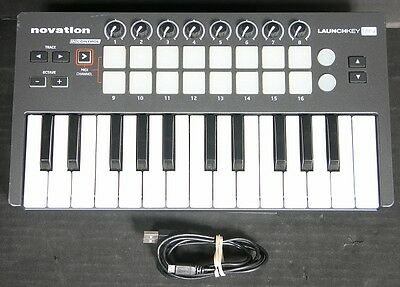 Novation Launchkey Mini Keyboard Controller With USB Cord