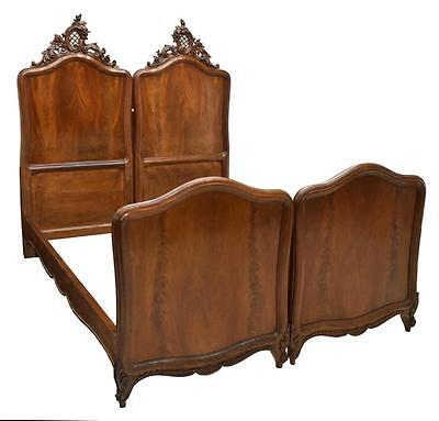 2 LOUIS XV STYLE JOINED BEDS , 19th Century ( 1800s  )