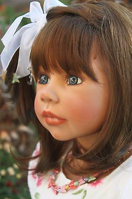 "Masterpiece Doll MADISON by Monika Levenig 40""  Brunette Vinyl Doll  US Edition"