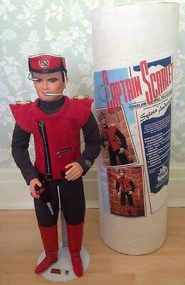 Captain Scarlet Porcelain Doll 22 ins TALL