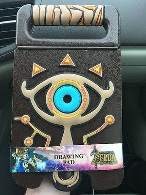 The Legend Of Zelda Breath Of The Wild Drawing Pad Shiekah Sketchbook Very Rare