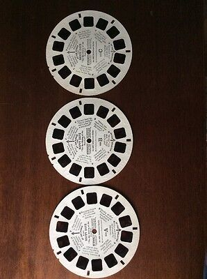 View Master Reels Lot Set Happy Days A B C 1 2 3 Vintage Viewmaster