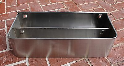 Stainless Steel Speed Rack Double 22 inches long for Bar /Restaurant Industrial