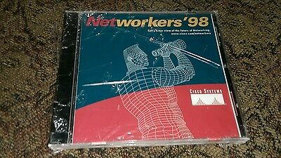 Networkers '98 Networking Cisco Systems CD Rom Software IBM Multimedia Security