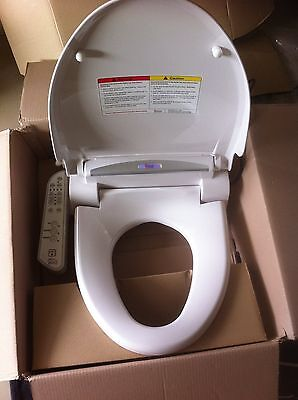 New QUOSS Q5300 Digital Bidet Toilet Seat Washlet Dry Warm Electric