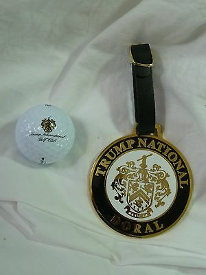 President Trump Engraved Trump National Golf Bag Tag--Only One Of Its Kind+ More