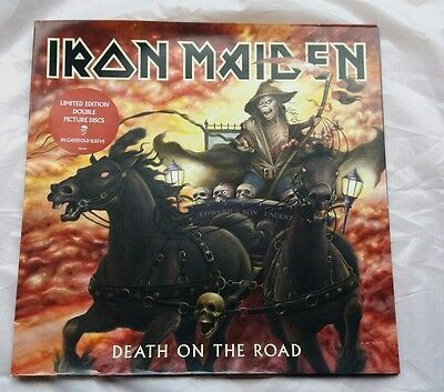 Iron Maiden - Death on the Road - Ltd Edition Double Vinyl Picture Disc