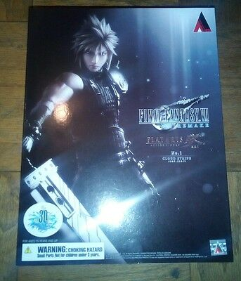 Play Arts Kai Final Fantasy VII No.1 Cloud Strife Figure