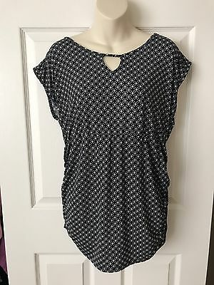 Maternity Shirt Size Large Dressy Top Stretchy Women's Clothes