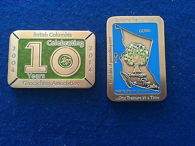 Sale - 2014 Copper Special Edition BCGA Trackable Geocoin with Proxy