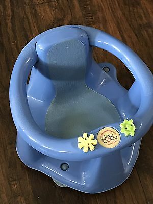 Idea  Baby Infant Bath Ring Seat Chair Support Suction Cups Blue Safety First
