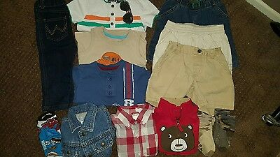 Lot of Baby Boys Clothes Size 12/12-18 Months Summer Spring Gymboree Place VGUC