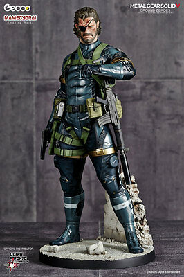 Gecco Metal Gear Solid V Ground Zeroes Snake 1:6 Scale Pvc Statue ~Brand New~