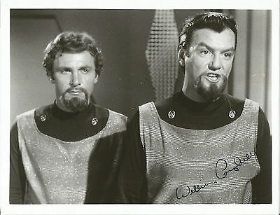 "William Campbell Star Trek TOS: ""Trouble With Tribbles""Orginal Signed 8x10 Photo"