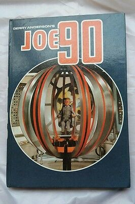 GERRY ANDERSON'S JOE 90 ANNUAL 1968 CENTURY 21 Not clipped.