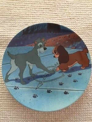 "Disney ""LADY & THE TRAMP"" Collector Plates"