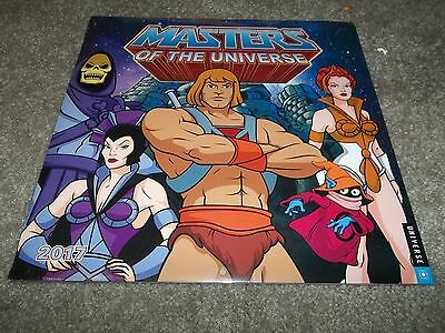 He-Man and the Masters of the Universe 2017 Wall Calendar Heros Cartoon Comic