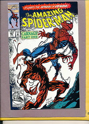Amazing Spider-man 361 1st Full Carnage NM 9.4  Sharp Copy Large Scans