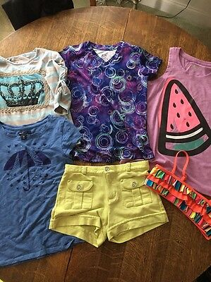 Girls Clothes Size 7/8  Lot of 6