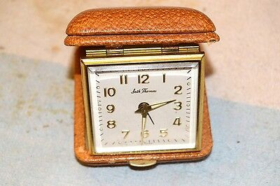 Seth Thomas West Germany Travel Alarm Clock Works