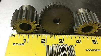 Boston Gear Steel Gears LOT OF 50 ND16 & Random Sizes, Metal art, Steampunk, Ind