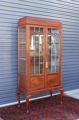 Large Antique Display Cabinet