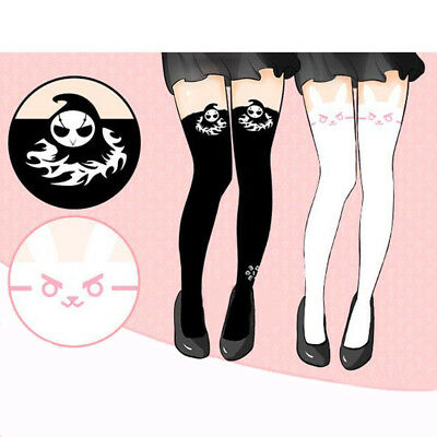 Game OW Overwatch REAPER D.va Tights Girls Stockings Pantyhose Socks Cosplay