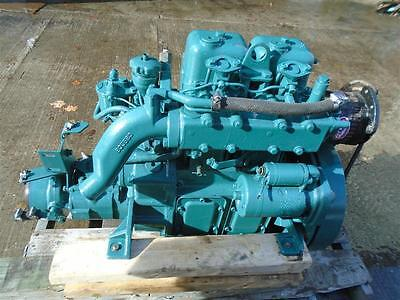 $3499 USD Volvo Penta MD2B 2 Cyl diesel engine motor transmission YOUTUBE VIDEO