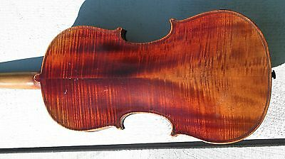 Old antique full size violin for restoration, #1285