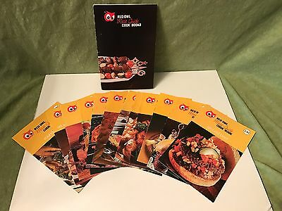 Red Owl Stores Meat Guide Collection Cook Books with Folder 1974 ~ Set of 12