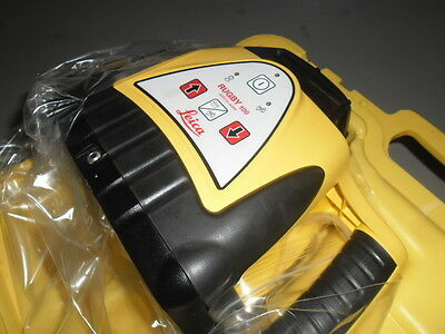 Leica Rugby 100 Rotating Laser Level Kit -  Serviced & Calibrated