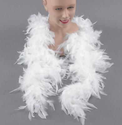 Feather Boa 150 Cm White Burlesque Showgirl Hen Night Fancy Dress Party