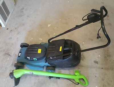 Electric lawn mower and Electric line trimmer