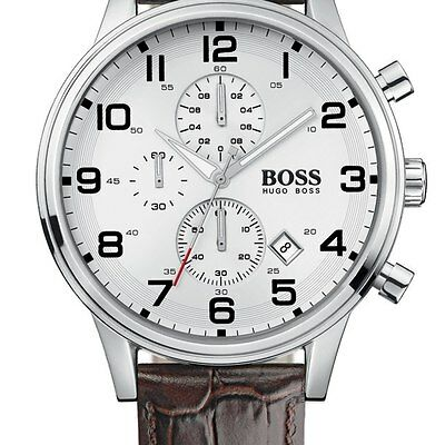 NEW HB1512447 HUGO BOSS Men's Aeroliner Chronograph Watch