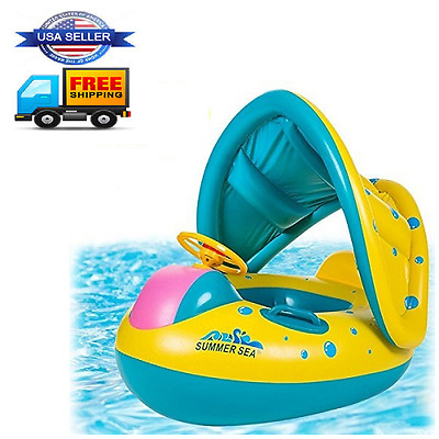Baby Inflatable Swim Ring Pool Swimming Toy Floats Summer Beach Water Raft