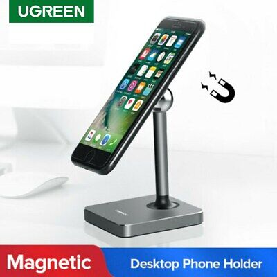 UGREEN Universal Magnetic Desk Stand Mobile Phone Holder Mount For iPhone HTC LG