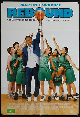 Rebound (2005) Australian One Sheet  Martin Lawrence