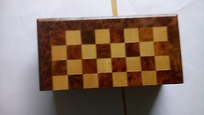 Wooden  Treavel Chess Board 8'' X 8'' Board Only  .