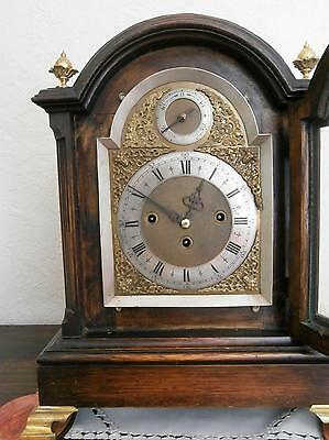 Winterhalder & Hoffmier Pad Top Triple Fusee Bracket Clock Serviced & Overhauled