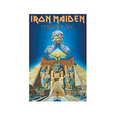 Iron Maiden Deluxe powerslave textile Poster Flag