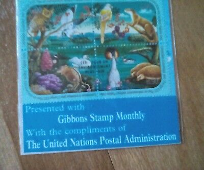 Set of 4 United Nations Stamps
