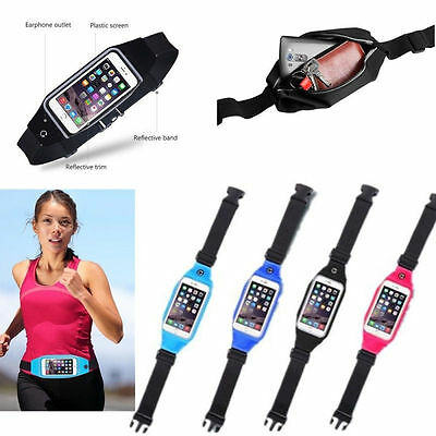 Sports Running Belt Waist Pocket Cycling Jogging Travel Wallet For Smart Phone