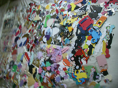JOBLOT 50 Random DIE CUTS PIECES SHAPES Cardmaking CRAFT CLEAROUT Tattered Lace
