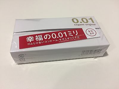 Ultra Thin Condom 0.01 Japan Sagami Original  5pc x 3 Boxes Next Day Delivery Au