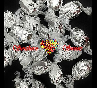 Silver Lollies Shiny Wrapped Toffees Caramel & Coconut Flavour 1Kg Bulk Bag